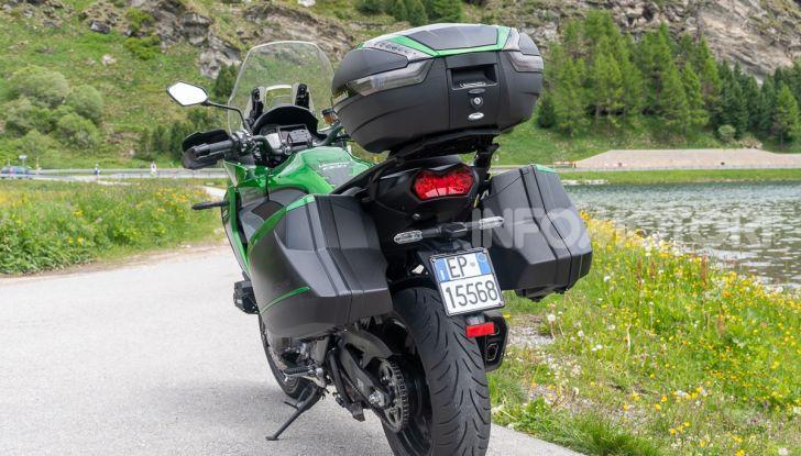 Prova Kawasaki Versys 1000 SE 2019, i 46 gradi più facili e comodi al mondo? - Foto 7 di 44