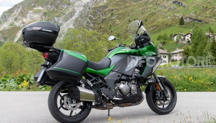 Prova Kawasaki Versys 1000 SE 2019, i 46 gradi più facili e comodi al mondo? - Foto 8 di 44