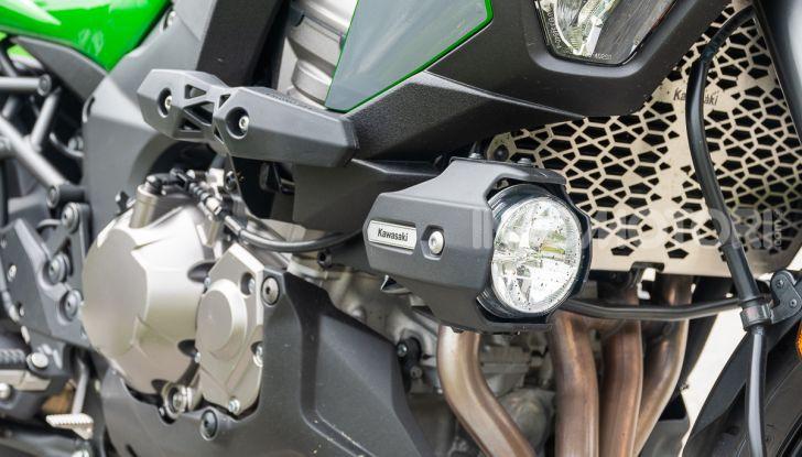 Prova Kawasaki Versys 1000 SE 2019, i 46 gradi più facili e comodi al mondo? - Foto 11 di 44