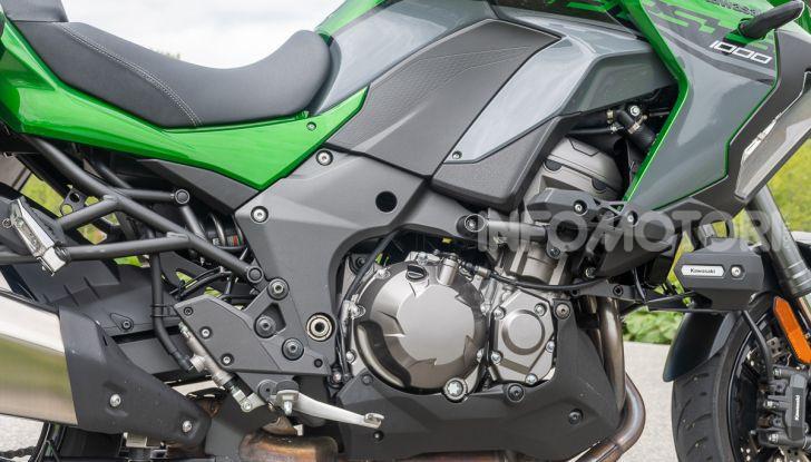 Prova Kawasaki Versys 1000 SE 2019, i 46 gradi più facili e comodi al mondo? - Foto 14 di 44