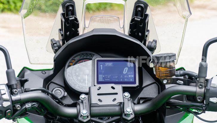 Kawasaki Versys 1000 SE 2019 strumentazione dashboard