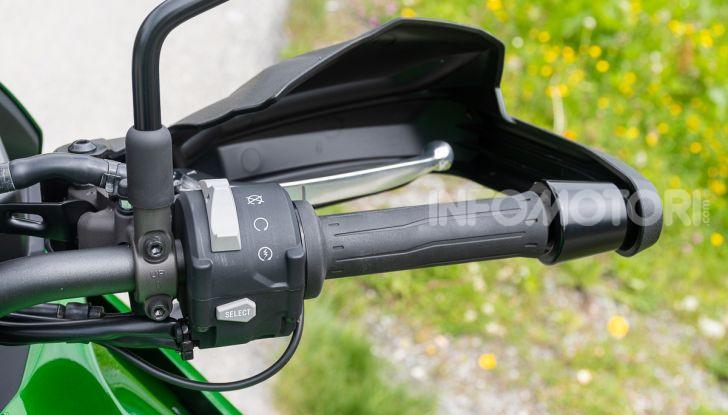 Prova Kawasaki Versys 1000 SE 2019, i 46 gradi più facili e comodi al mondo? - Foto 20 di 44