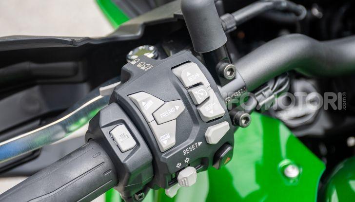Prova Kawasaki Versys 1000 SE 2019, i 46 gradi più facili e comodi al mondo? - Foto 22 di 44