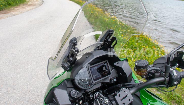 Prova Kawasaki Versys 1000 SE 2019, i 46 gradi più facili e comodi al mondo? - Foto 23 di 44