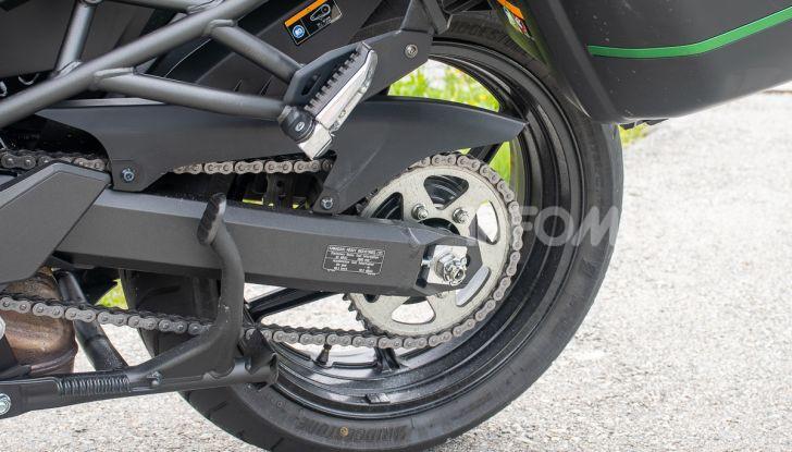 Prova Kawasaki Versys 1000 SE 2019, i 46 gradi più facili e comodi al mondo? - Foto 24 di 44