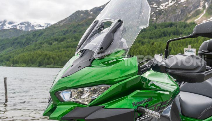 Prova Kawasaki Versys 1000 SE 2019, i 46 gradi più facili e comodi al mondo? - Foto 25 di 44