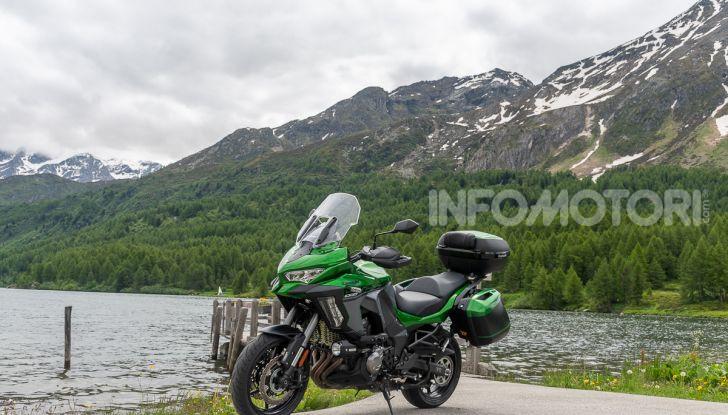 Prova Kawasaki Versys 1000 SE 2019, i 46 gradi più facili e comodi al mondo? - Foto 26 di 44