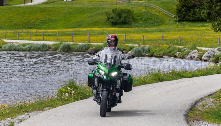 Prova Kawasaki Versys 1000 SE 2019, i 46 gradi più facili e comodi al mondo? - Foto 30 di 44