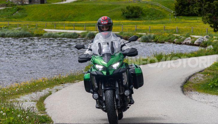 Prova Kawasaki Versys 1000 SE 2019, i 46 gradi più facili e comodi al mondo? - Foto 31 di 44