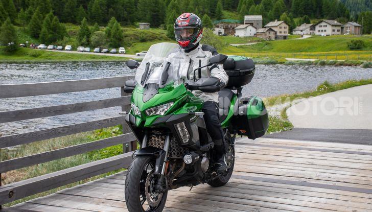 Prova Kawasaki Versys 1000 SE 2019, i 46 gradi più facili e comodi al mondo? - Foto 32 di 44