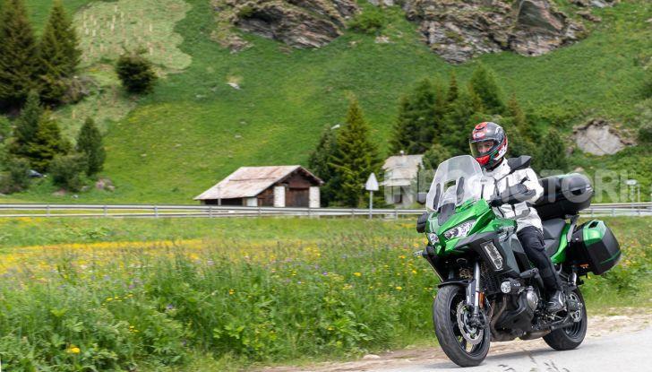 Prova Kawasaki Versys 1000 SE 2019, i 46 gradi più facili e comodi al mondo? - Foto 34 di 44