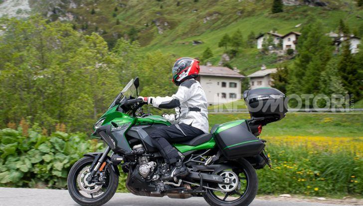 Prova Kawasaki Versys 1000 SE 2019, i 46 gradi più facili e comodi al mondo? - Foto 35 di 44