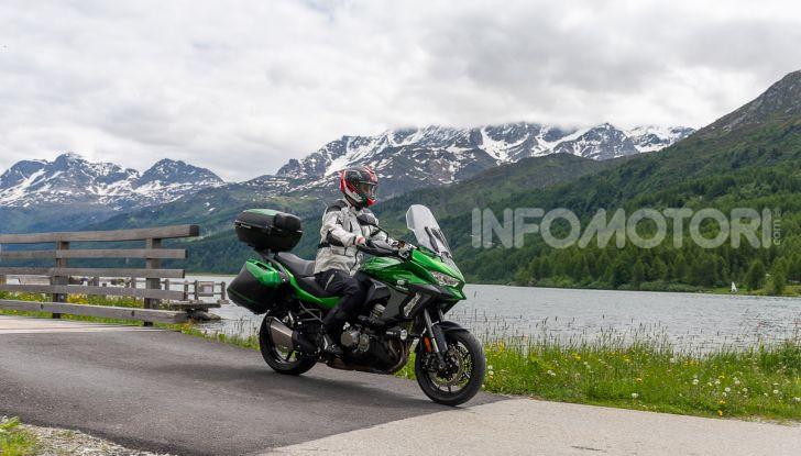 Prova Kawasaki Versys 1000 SE 2019, i 46 gradi più facili e comodi al mondo? - Foto 36 di 44