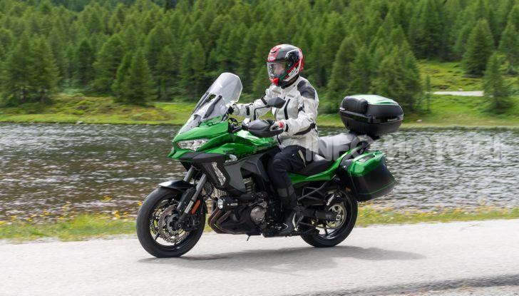 Prova Kawasaki Versys 1000 SE 2019, i 46 gradi più facili e comodi al mondo? - Foto 37 di 44