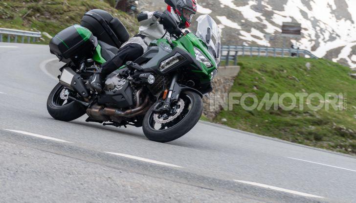Prova Kawasaki Versys 1000 SE 2019, i 46 gradi più facili e comodi al mondo? - Foto 38 di 44