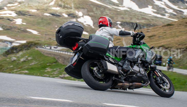 Prova Kawasaki Versys 1000 SE 2019, i 46 gradi più facili e comodi al mondo? - Foto 40 di 44