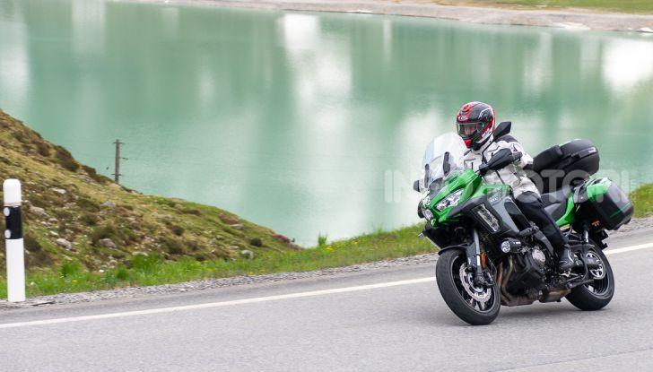 Prova Kawasaki Versys 1000 SE 2019, i 46 gradi più facili e comodi al mondo? - Foto 42 di 44