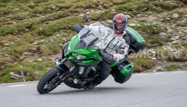 Prova Kawasaki Versys 1000 SE 2019, i 46 gradi più facili e comodi al mondo? - Foto 2 di 44