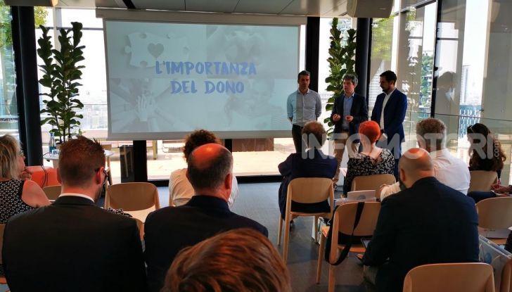 Kia e 1 Caffé Onlus, l'iniziativa per il sociale con Savio e Argentero - Foto 9 di 11