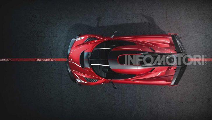 Koenigsegg Jesko Red Cherry Edition: una e unica - Foto 1 di 6