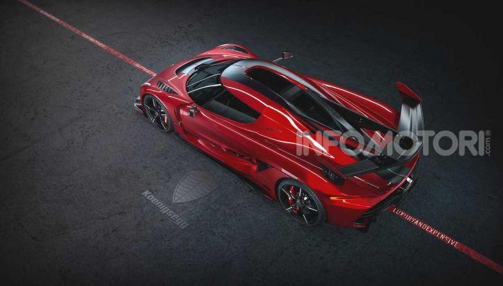 Koenigsegg Jesko Red Cherry Edition: una e unica - Foto 3 di 6