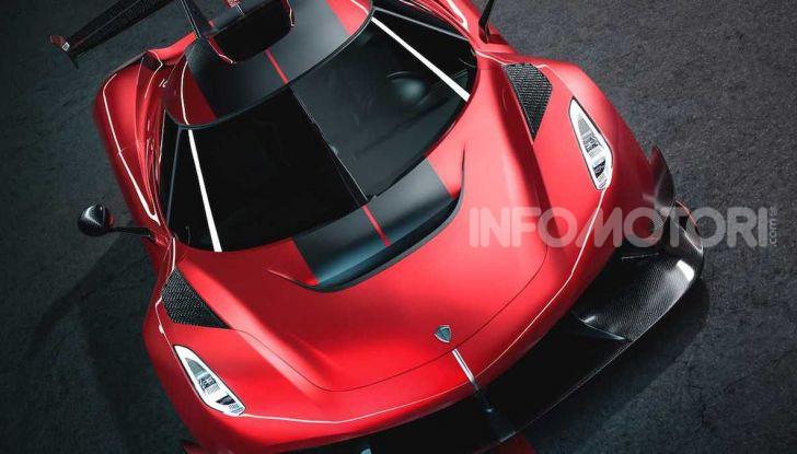 Koenigsegg Jesko Red Cherry Edition: una e unica - Foto 5 di 6