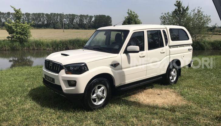 Mahindra GOA Pik-Up Plus 2019, prezzi e allestimenti del nuovo pick-up - Foto 13 di 16