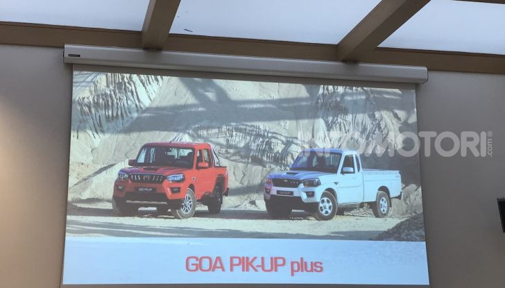 Mahindra GOA Pik-Up Plus 2019, prezzi e allestimenti del nuovo pick-up - Foto 14 di 16
