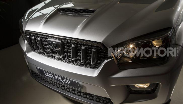 Mahindra GOA Pik-Up Plus 2019, prezzi e allestimenti del nuovo pick-up - Foto 9 di 16