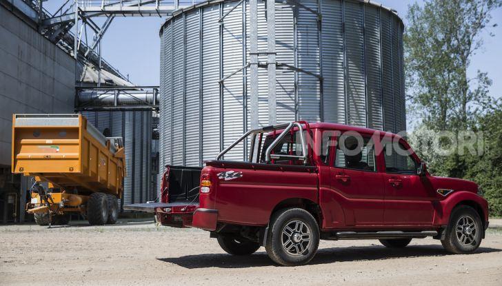 Mahindra GOA Pik-Up Plus 2019, prezzi e allestimenti del nuovo pick-up - Foto 2 di 16