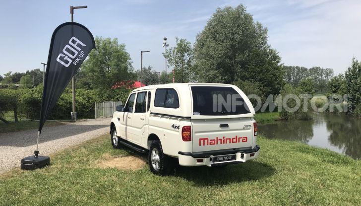 Mahindra GOA Pik-Up Plus 2019, prezzi e allestimenti del nuovo pick-up - Foto 12 di 16