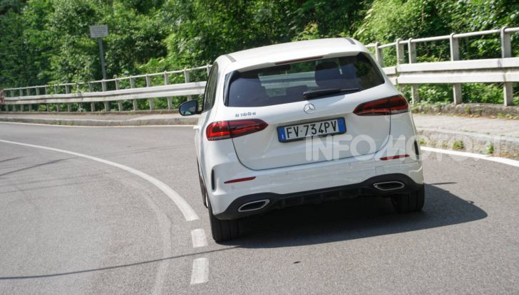[VIDEO] Nuova Mercedes Classe B 2019: Prova, caratteristiche e opinioni - Foto 12 di 53