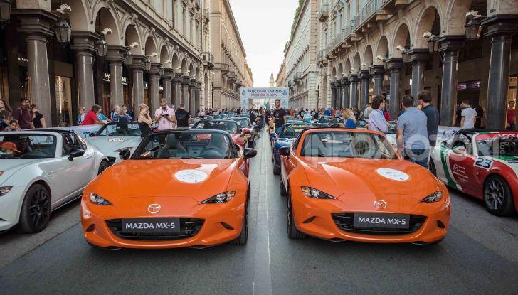 Mazda CX-30 e MX-5 protagoniste al Parco Valentino 2019 - Foto 1 di 34
