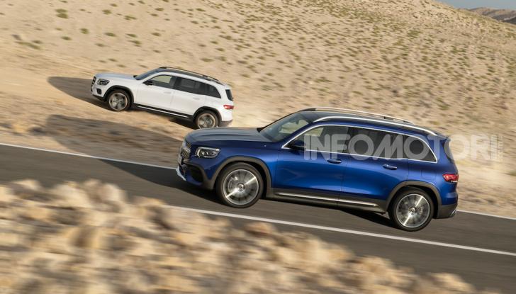 Nuova Mercedes GLB: spirito offroad, ma con tanta eleganza - Foto 5 di 16