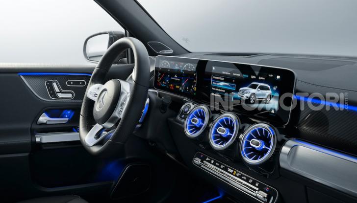 Nuova Mercedes GLB: spirito offroad, ma con tanta eleganza - Foto 9 di 16