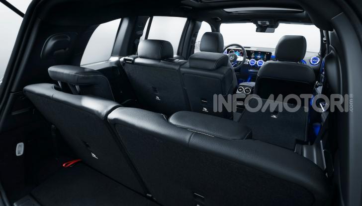 Nuova Mercedes GLB: spirito offroad, ma con tanta eleganza - Foto 8 di 16