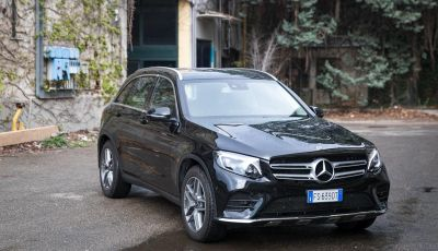 Mercedes-Benz GLC 350e: un passo in avanti verso l'elettrificazione