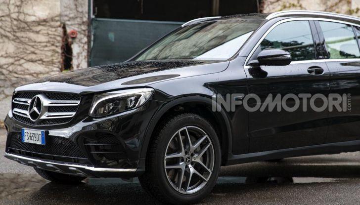 Mercedes-Benz GLC 350e: un passo in avanti verso l'elettrificazione - Foto 23 di 33