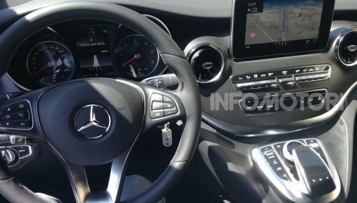 Prova Mercedes Classe V 2019, tutti i segreti del luxury van - Foto 37 di 42