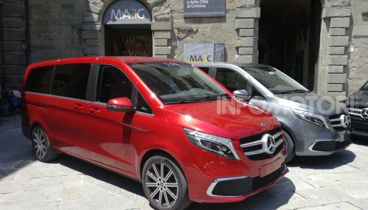 Prova Mercedes Classe V 2019, tutti i segreti del luxury van - Foto 40 di 42