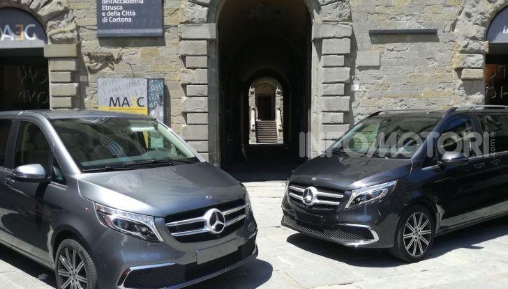 Prova Mercedes Classe V 2019, tutti i segreti del luxury van - Foto 41 di 42