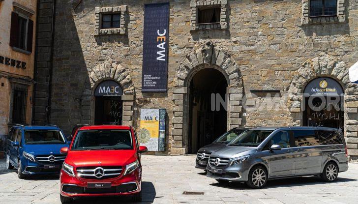 Prova Mercedes Classe V 2019, tutti i segreti del luxury van - Foto 8 di 42