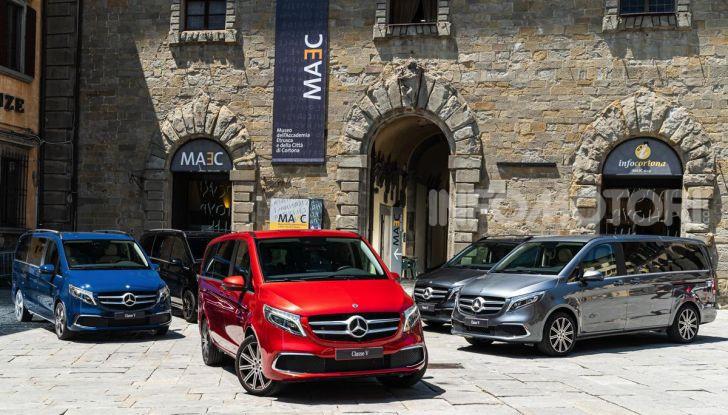 Prova Mercedes Classe V 2019, tutti i segreti del luxury van - Foto 10 di 42