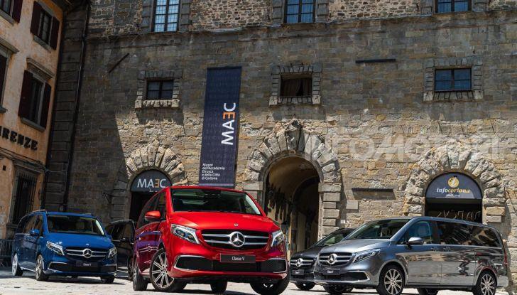 Prova Mercedes Classe V 2019, tutti i segreti del luxury van - Foto 11 di 42