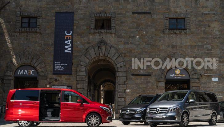 Prova Mercedes Classe V 2019, tutti i segreti del luxury van - Foto 14 di 42
