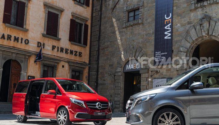 Prova Mercedes Classe V 2019, tutti i segreti del luxury van - Foto 15 di 42