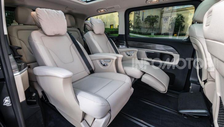 Prova Mercedes Classe V 2019, tutti i segreti del luxury van - Foto 29 di 42