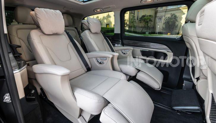 Prova Mercedes Classe V 2019, tutti i segreti del luxury van - Foto 30 di 42