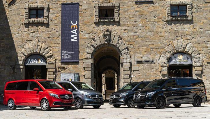 Prova Mercedes Classe V 2019, tutti i segreti del luxury van - Foto 3 di 42