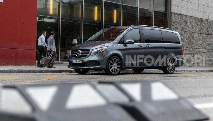 Prova Mercedes Classe V 2019, tutti i segreti del luxury van - Foto 32 di 42